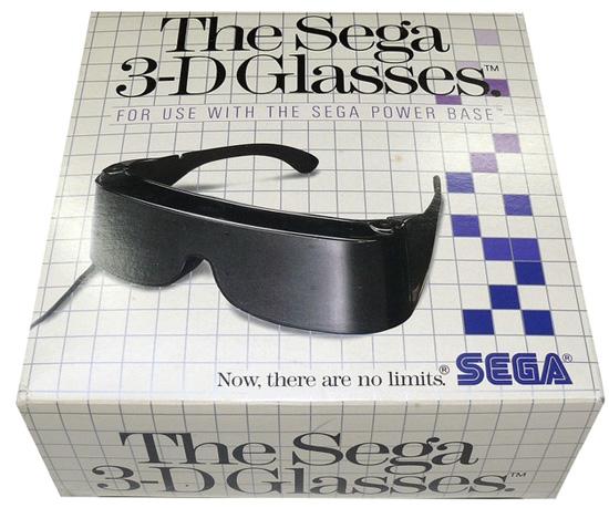 Gafas 3D de SEGA... No son demasiado diferentes a las actuales