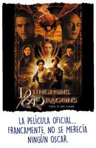 Portada de la película de Dungeons & Dragons