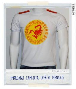 Camiseta Scottish Clan, bastante terrible