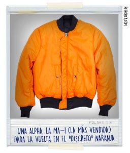 Alpha Industries Naranja