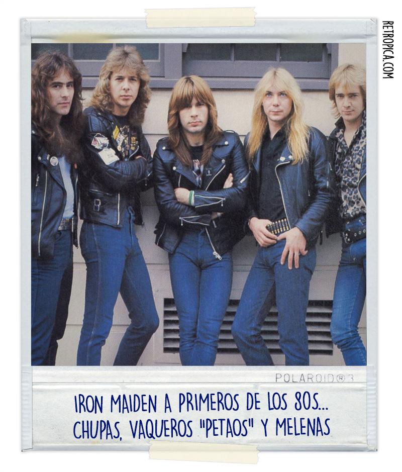 Iron Maiden a primeros de los 80's