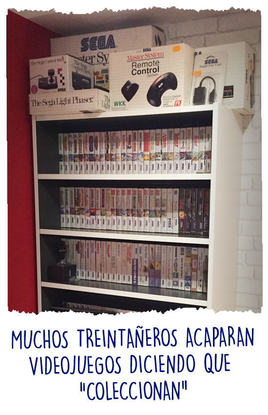 Colección de videojuegos retro