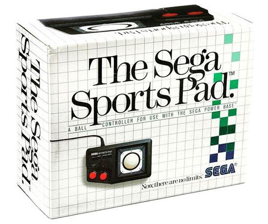 """Sega Sports Pad - Un """"trackball"""" para juegos deportivos"""