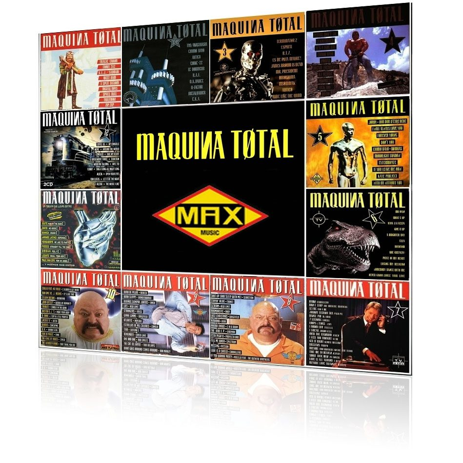 Los Máquina Total de Max Music