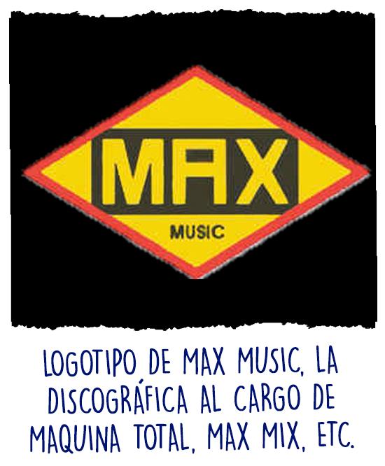 Logo de la discográfica MAX Music