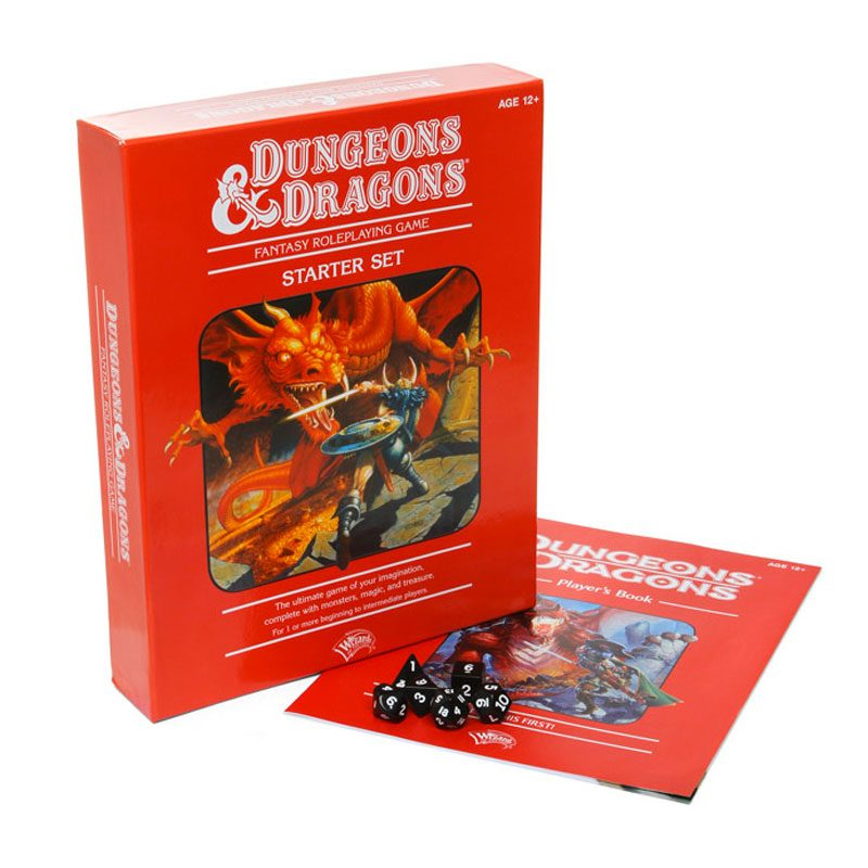 Cajas originales de Advanced Dungeons & Dragons
