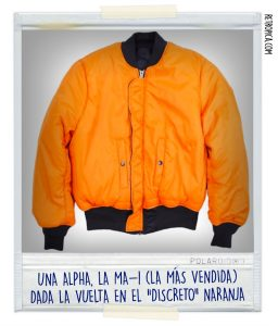 Alpha Industries Naranja