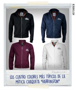 Cazadoras Harrington de Lonsdale