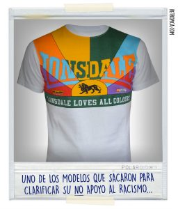 "Camiseta ""Lonsdale loves all colours"""